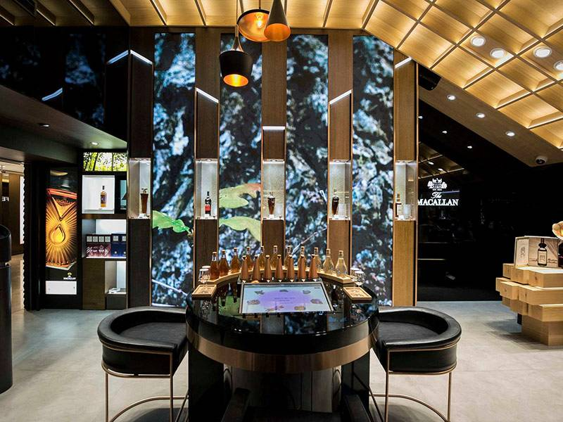Macallan Travel Retail Interactive Digital Experience