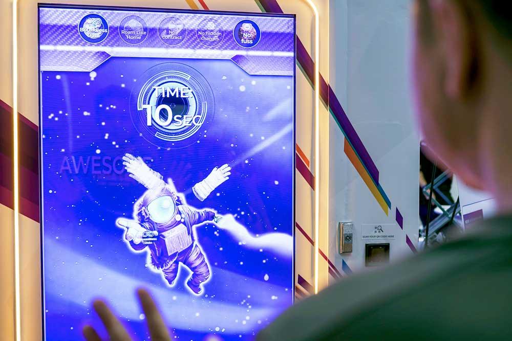 MyRepublic Interactive Game Machine - TRINAX