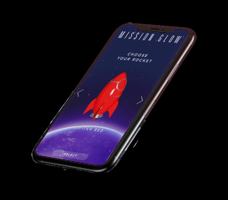 Clarins Rocket Game