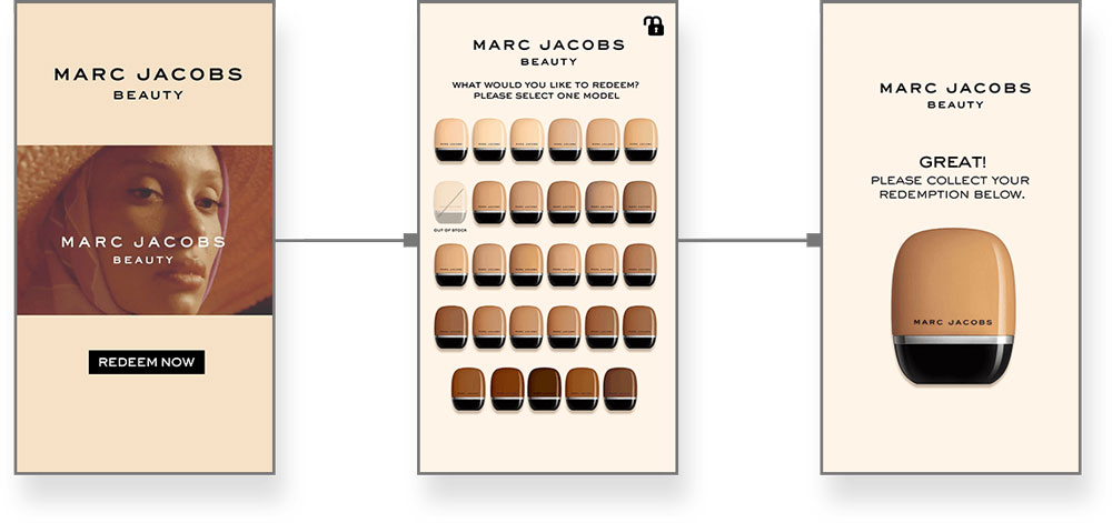 Marc Jacobs Sampling Machine